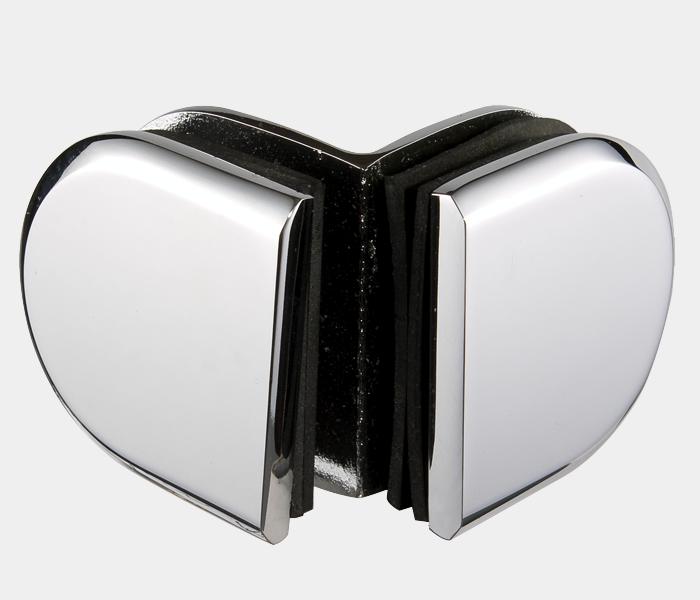 圆角斜边玻璃夹 BLD-G5R