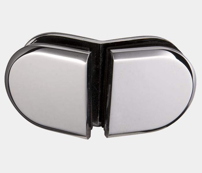 圆角斜边玻璃夹 BLD-G6R